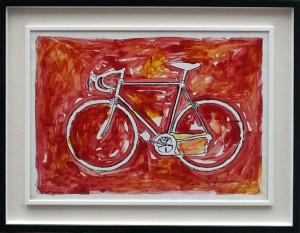 Mario Schifano – La bicicletta