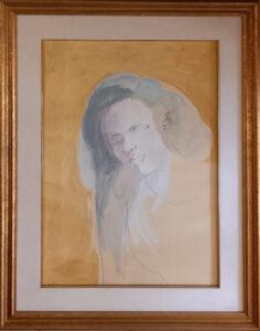 Ugo Attardi – Ritratto di donna