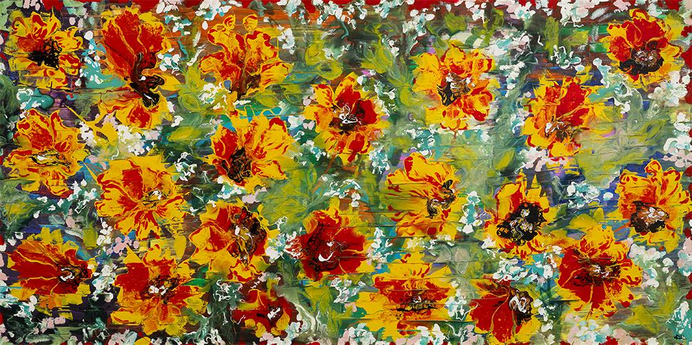Isabella Crucianelli – Tappetto di fiori