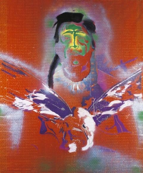 sigmar-polkes-indianer-mit-adler-von-1975-fuer-1-5-bis-2-millionen-pfund