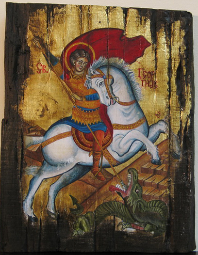 Natasa JELOVAC – St George Shoots The Dragon
