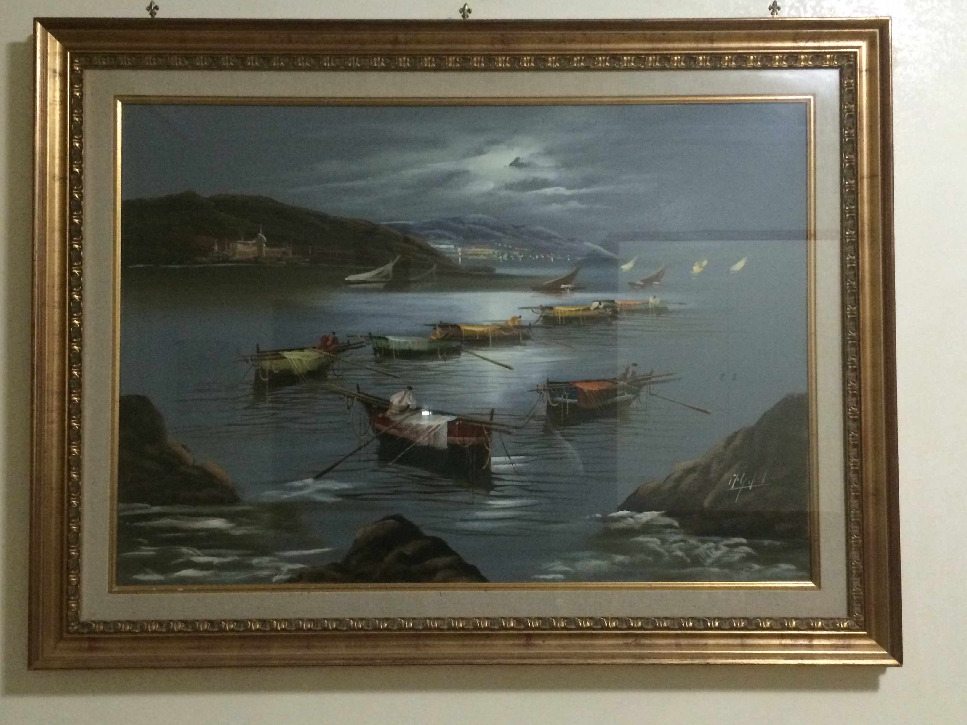 Mario galanti marina vendere quadri for Cornici grandi dimensioni