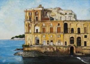 Michele Criscuolo (Cris) – Napoli. Il palazzo seicentesco Donn'Anna