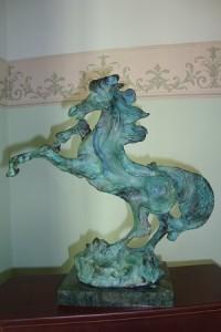 Aligi Sassu – Cavallo airoso