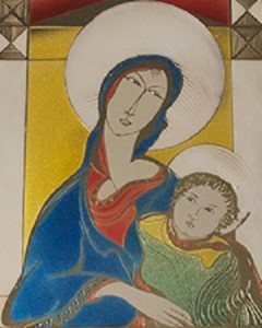 Antonio Nocera – La Madonna con bambino