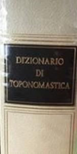 Dizionario di toponomastica – Utet