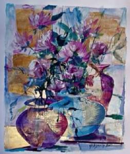 Gian Mauro Merlo De Vignola – Vasi con fiori