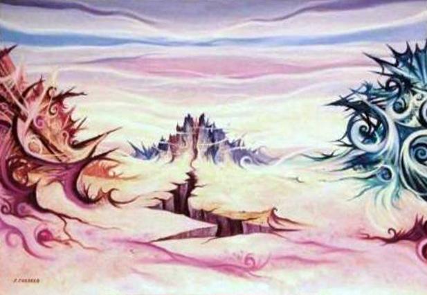 Cordaro Stefano – Paesaggio Astrale