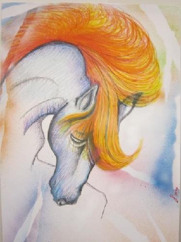 Linda Cudicio – Cavallo di fuoco