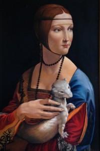 Alfredo Della Bina – Dama con ermellino di Leonardo