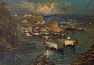 Enzo Infante – Paesaggio marino