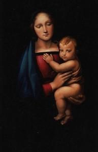 Alfredo Della Bina – Madonna del Gran Duca di Raffaello