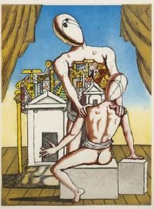 Giorgio De Chirico – Oreste e Pilade
