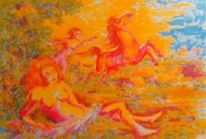 Aligi Sassu – Cavalli