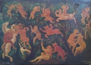 Gian Maria Sanna – Il ratto delle ninfe