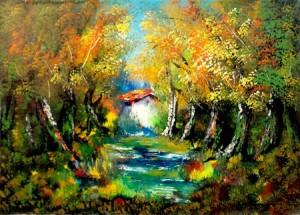 Antonio Pecoraro – Alberi in autunno