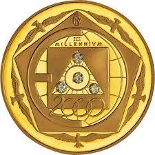 Medaglia 2000 III millennio – IPZS