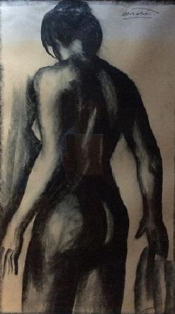 Luigi Bartolini - Nudo di donna - VENDERE QUADRI