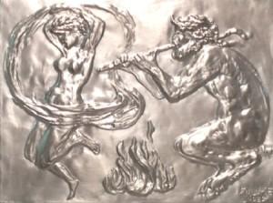 Salvatore Fiume – La danza del fuoco