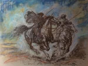 Giovan Francesco Gonzaga – Butteri al galoppo