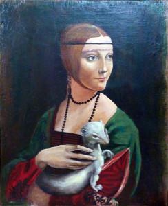 Oria – LEONARDO Dama con l'ermellino