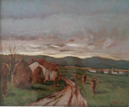 Giorgio Moldiani – Paesaggio campestre