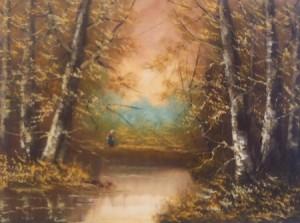Paolo Victor Sannino – Donna nel bosco