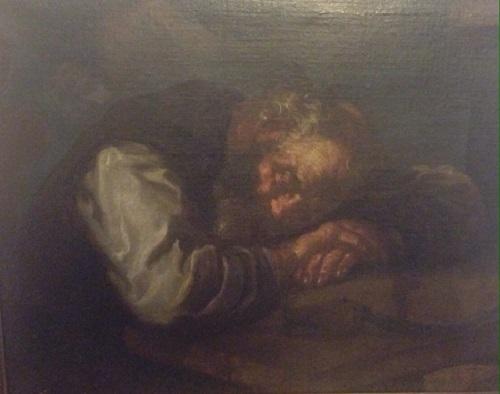 Monsù Bernardo (Eberhard Keilhau) – Vecchio dormiente – Allegoria dell'autunno