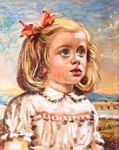 Giorgio De Chirico – Ritratto di Rosetta Castellani