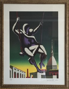 Mark Kostabi – Loophole with a view