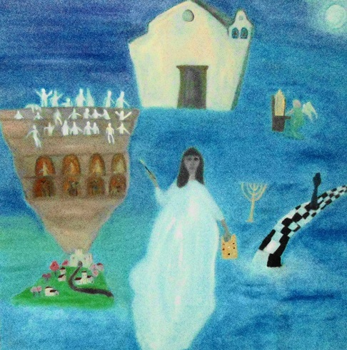 Valentina Vivacqua – L'artista e gli omini