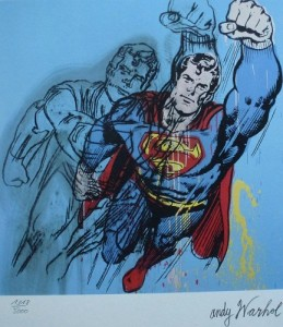 Andy Warhol – Superman