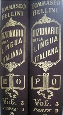 dizionario della lingua italiana: