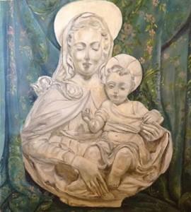 Gabriella Rossi – Madonna con bambino