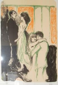 Alberto Sughi – L'Abbraccio