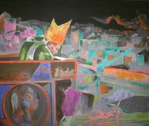 Ugo Attardi – Guardava la città dormiente