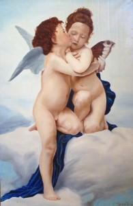 Tonia Buccato – Il primo bacio di Bouguereau