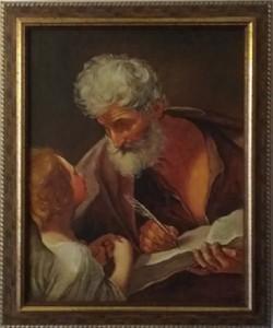 """Giansiracusa – Riproduzione di Guido Reni """"L'Evangelista Matteo e l'Angelo"""""""