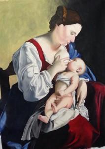 Tonia Buccato – Madonna con bambino di Orazio Gentileschi