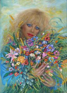 Carmen Crisafulli – La fioraia