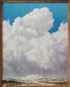 Alberto Bertoldi – Paesaggio con neve
