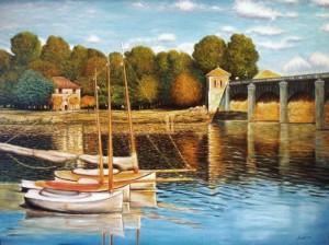 Orazio Morolli – Ponte ad Argenteuil