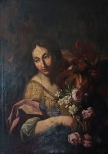 Artista Sconosciuto – Donna con fiori