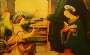 Domenico Ghirlandaio – L'Annunciazione