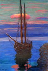 Angelo Dall'Oca Bianca – L'alba sul Garda