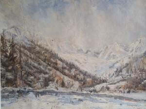 Francesco Carini – Caspoggio con neve
