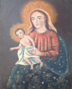 Immagine sacra – Anonimo