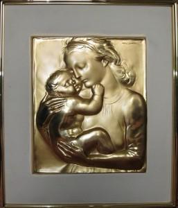 Francesco Messina – Madonna con bambino