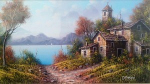 Angelo Davoli – Lago di Garda