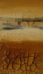 Angela Cacciamani – Composizione di cretto e quarzo, multistrato